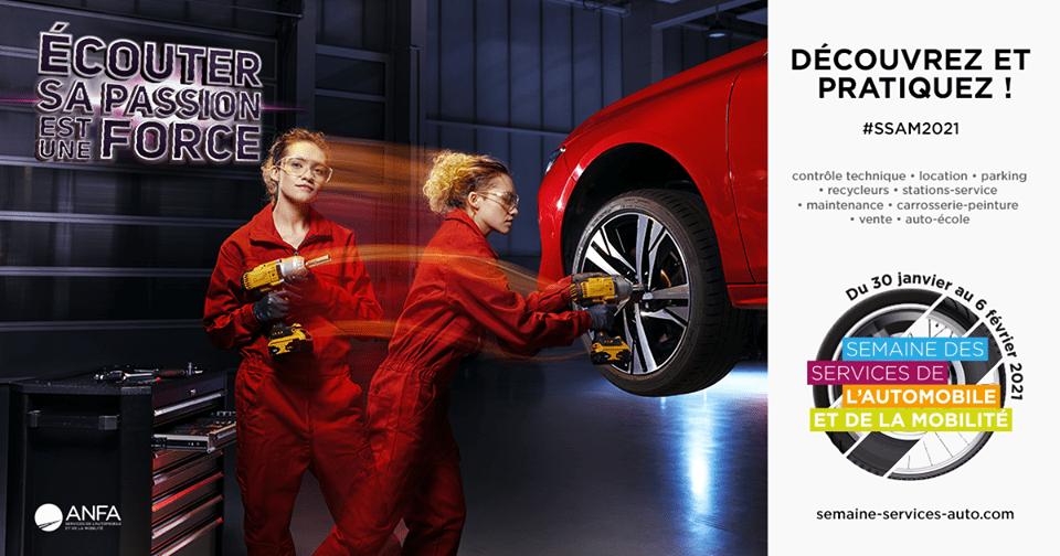 Semaine des métiers de l'automobile et de la mobilité - 2021