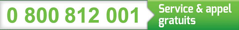 Numéro vert - Service grêle - SAFRA Automobile